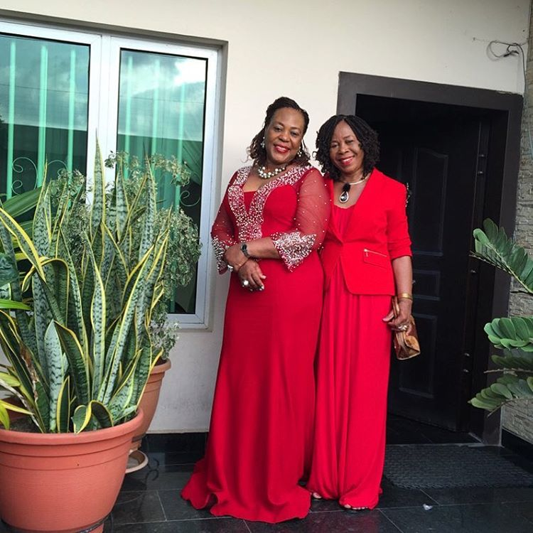 sistersister Aunty Ubochi and Momma