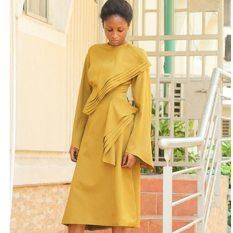 A frock and a half. We have just one piece left of this dress by @meenaofficial in the store. Shop Zinkata today. #westockgreatfinds