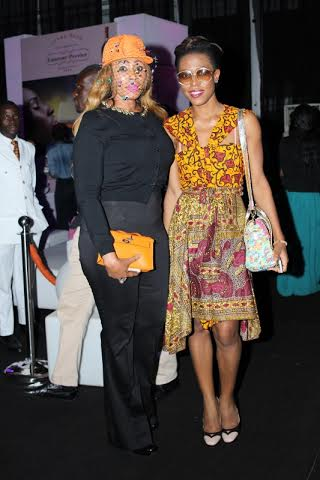 Ezinne and the very stylish Mrs Nkiru Anumudu