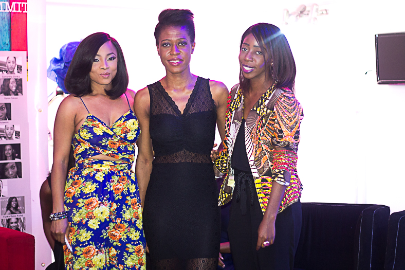 L-R: Toke Makinwa, Ezinne and Bisola