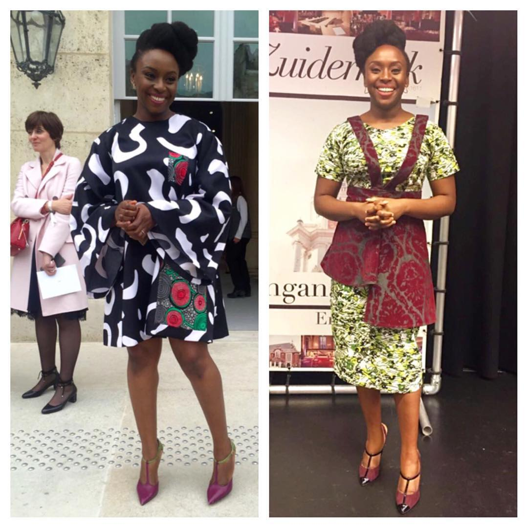 New Post CHIMAMANDA ADICHIE IS SPOTTED TWICE IN FIA FACTORYhellip
