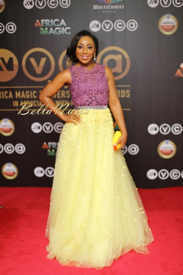 Dakore Akande at the 2015 African Magic Viewers Choice Awards in House of Dabira