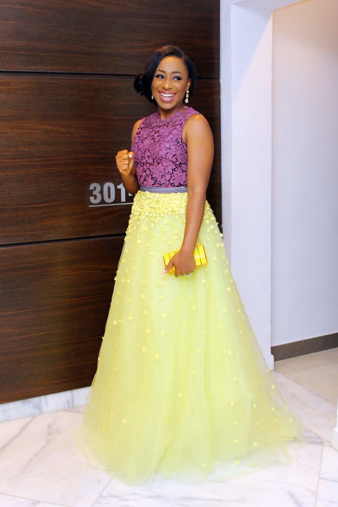 The Smile as she heads to the AMVCA'S!!!!