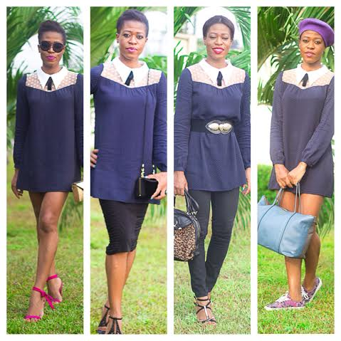 15% off Blue Smock dress and 4 ways to Style it!