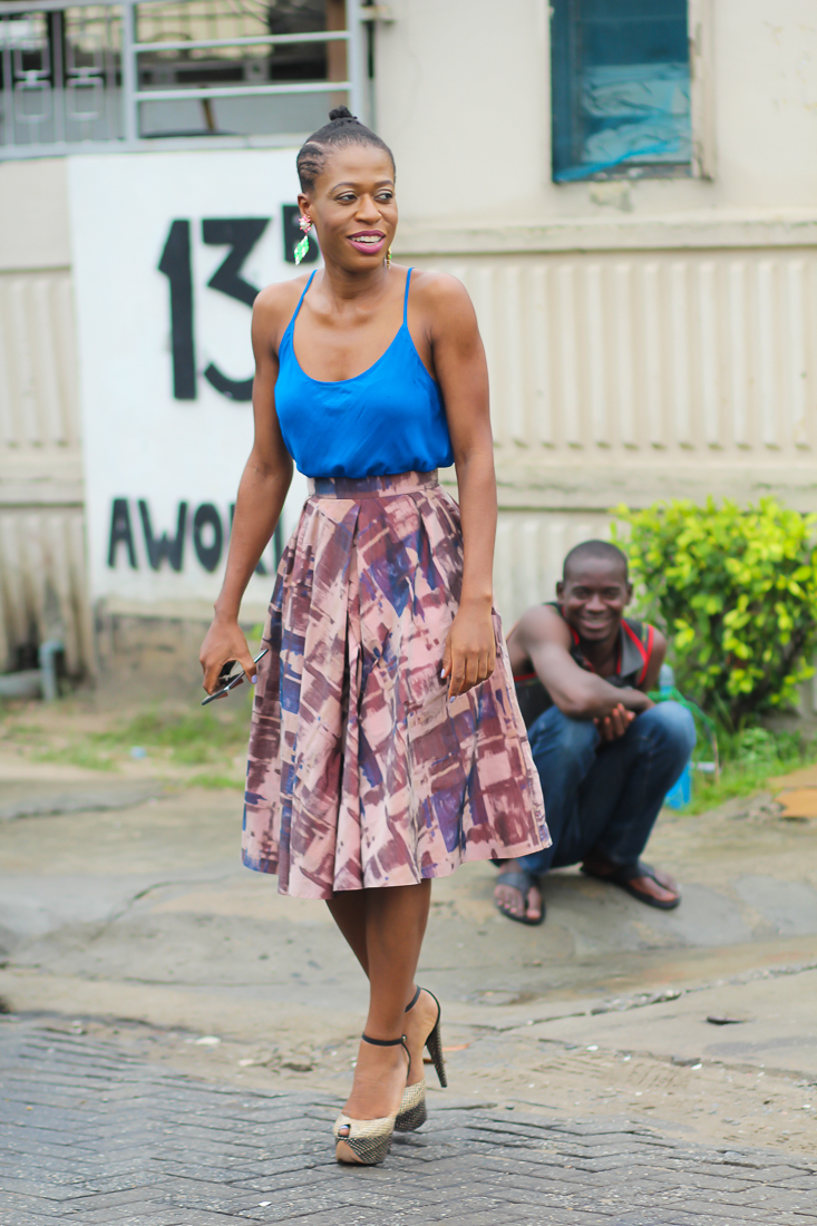 Style Tips: Get the illusion of a slimmer waist-line