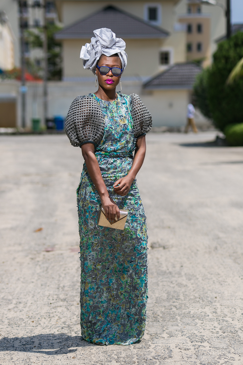 Set your weekend on fire in this gorgeous Iro and Buba